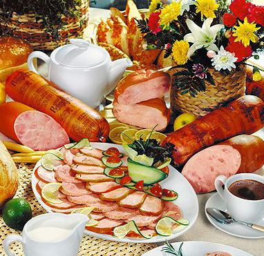 Продукты питания для кафе и ресторанов